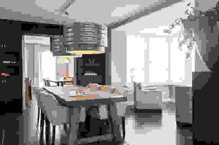 Eettafel: modern  door Bob Romijnders Architectuur + Interieur, Modern