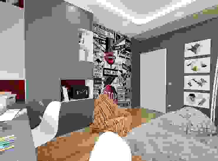 Dormitorios infantiles de estilo  de Студия интерьера Дениса Серова,