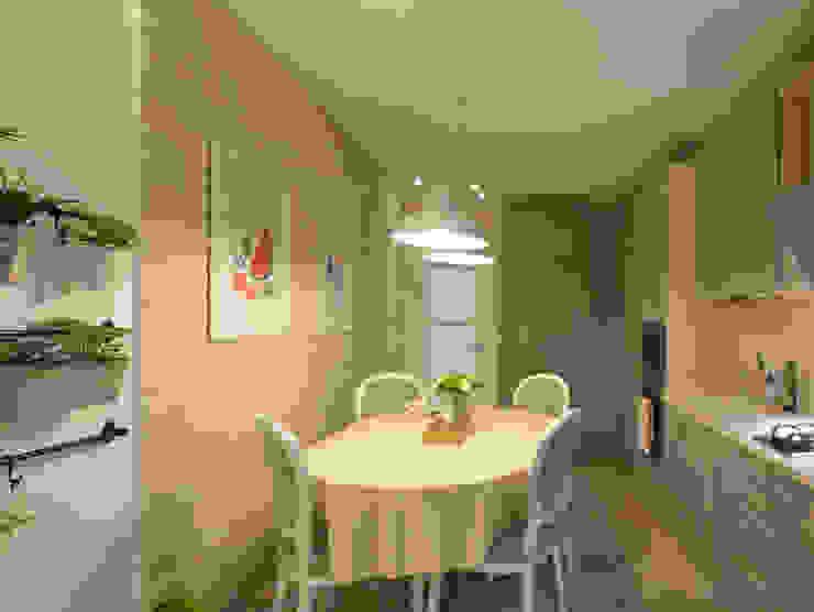 Студия интерьера Дениса Серова Country style kitchen
