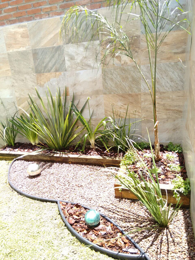 Jardines minimalistas de Arqca Minimalista