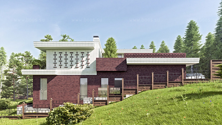 Scandinavian style houses by BOOS architects Scandinavian