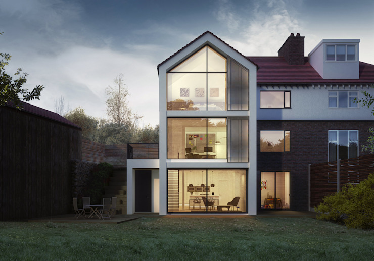 House Extension Manchester Modern houses by homify Modern Wood Wood effect