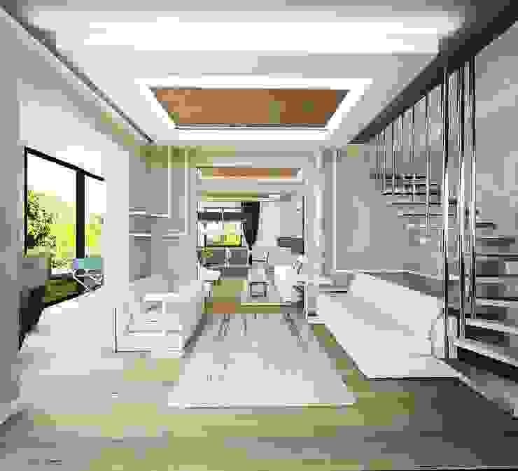 Günçe House Modern Oturma Odası HePe Design interiors Modern Ahşap Ahşap rengi