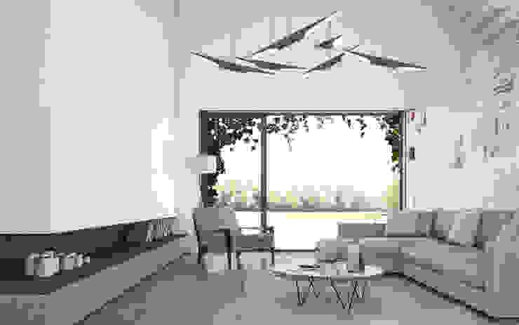 Гостиная в средиземноморском стиле от DFG Architetti Associati Средиземноморский