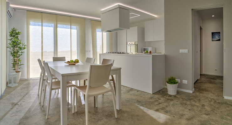 Modern kitchen by DFG Architetti Associati Modern