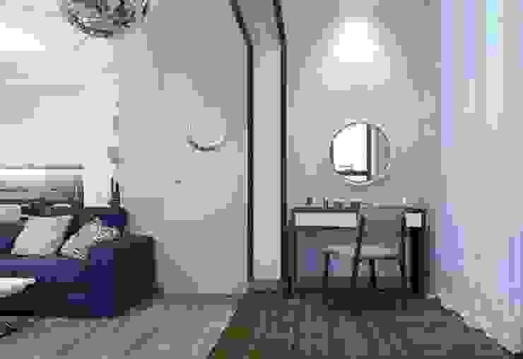 ДизайнМастер Mediterranean corridor, hallway & stairs Blue