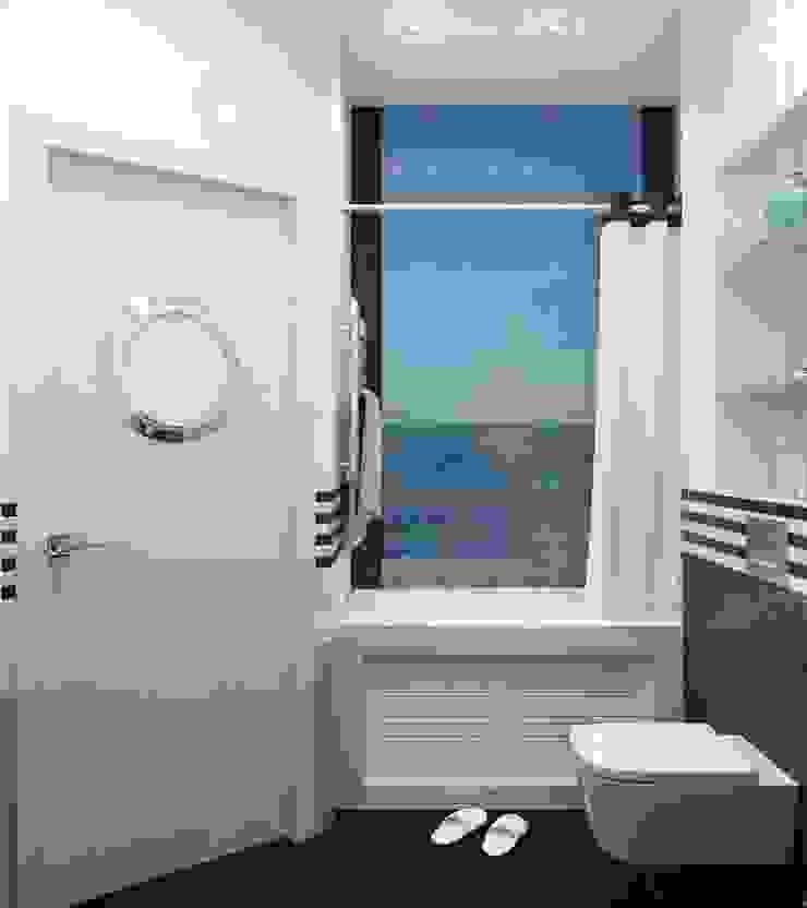 ДизайнМастер Mediterranean style bathrooms Blue