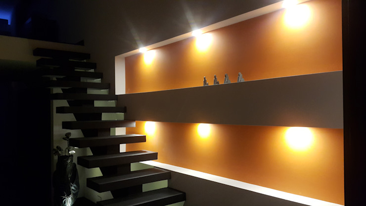 Corridor & hallway by homify, Modern Concrete