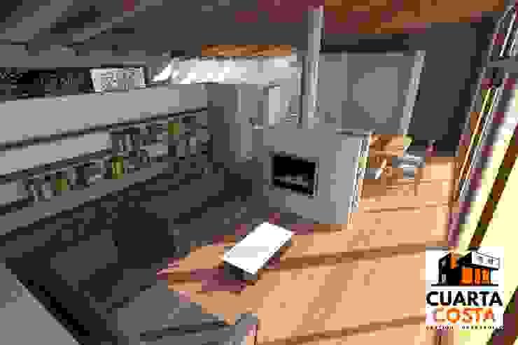 Vivienda 212 m2 Livings de estilo clásico de Cuarta Costa Clásico