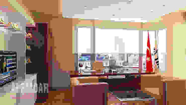 Makam Odası Modern Çalışma Odası elif alemdar interior Modern Ahşap Ahşap rengi
