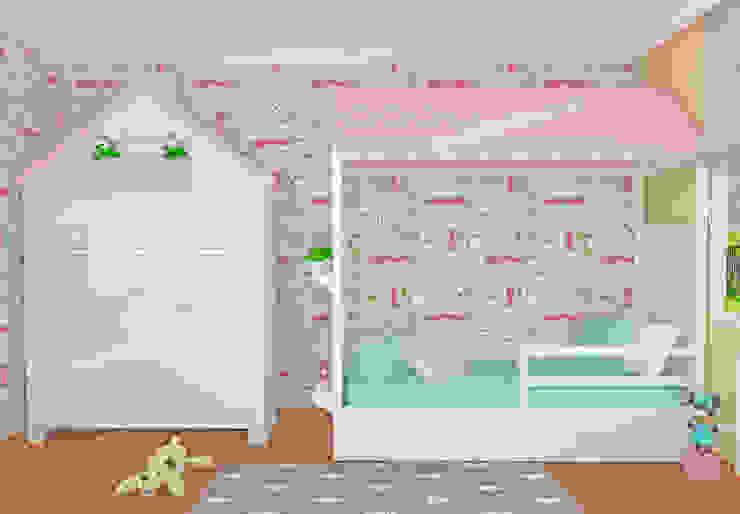 Montessori Ev Konseptli Çocuk Odası, Cemre'nin Odası Modern Çocuk Odası MOBİLYADA MODA Modern Ahşap Ahşap rengi