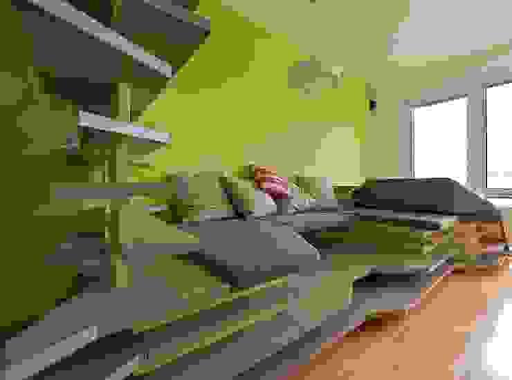 Eklektik Oturma Odası 3rdskin architecture gmbh Eklektik