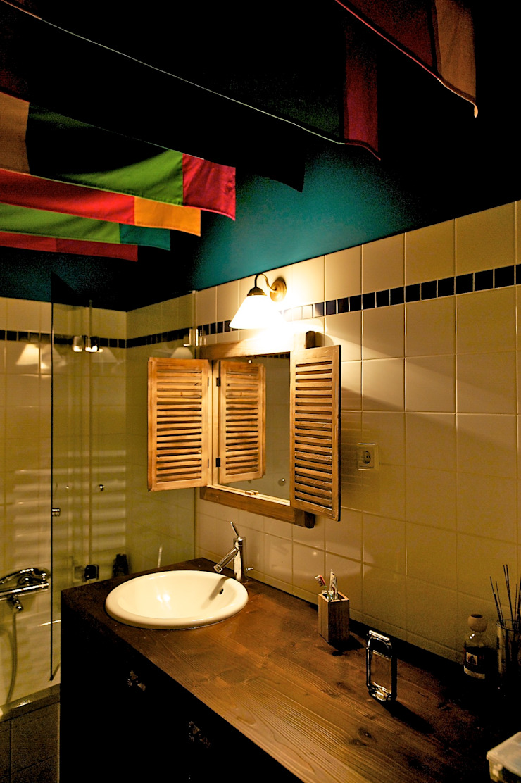 3rdskin architecture gmbh Baños de estilo ecléctico