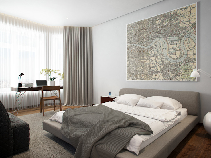 Apartment in Tyumen by EVGENY BELYAEV DESIGN