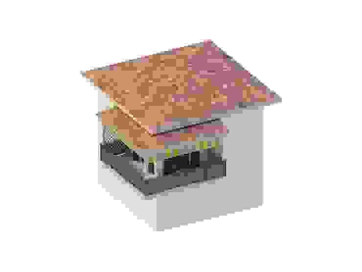 Svitavvita Snc Mediterranean style balcony, porch & terrace Wood