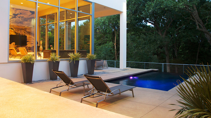 Modern Landscape Design by Matthew Murrey Design Minimalist