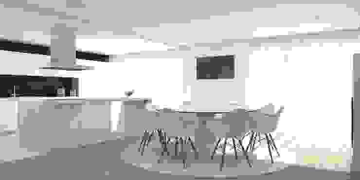 Moradia – Vila Verde Cozinhas modernas por Equevo - Interiores Design Moderno