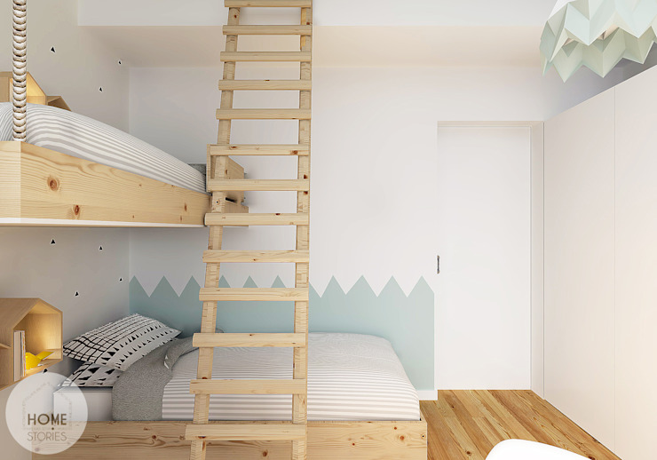 Nursery/kid's room by homify, Scandinavian