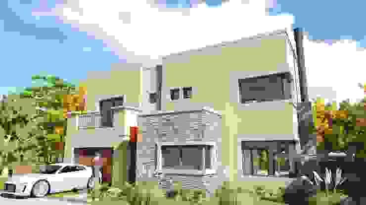 Ayres de Santa Monica Casas modernas: Ideas, imágenes y decoración de Estudio de arquitectura MSM (Mar del Plata+Balcarce+Tandil) Moderno Piedra