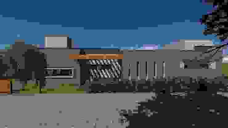 Casa para artista y arquitecto Casas minimalistas de Estudio de arquitectura MSM (Mar del Plata+Balcarce+Tandil) Minimalista Hierro/Acero