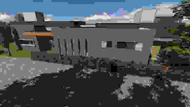 Casa para artista y arquitecto Casas minimalistas de Estudio de arquitectura MSM (Mar del Plata+Balcarce+Tandil) Minimalista