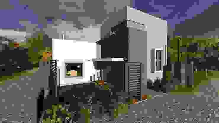 Casa para artista y arquitecto Casas minimalistas de Estudio de arquitectura MSM (Mar del Plata+Balcarce+Tandil) Minimalista Hormigón
