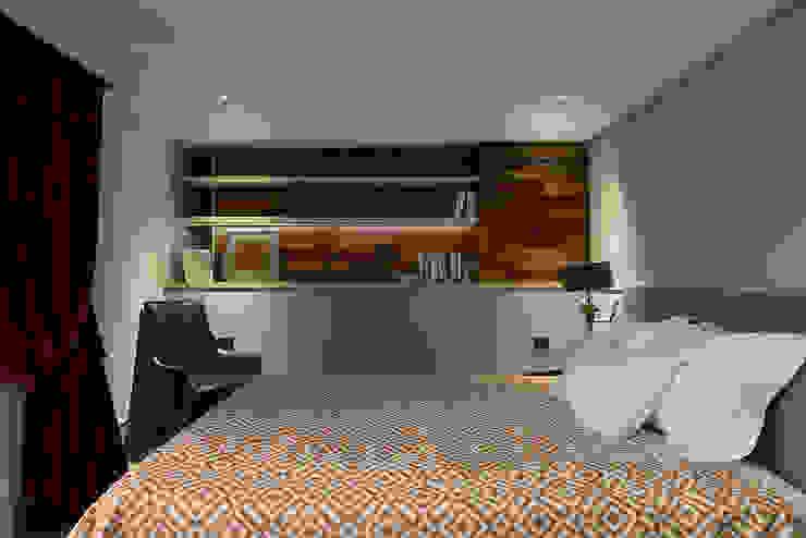 北歐摩登樓中樓輕混搭 Scandinavian style bedroom by AIRS 艾兒斯國際室內裝修有限公司 Scandinavian