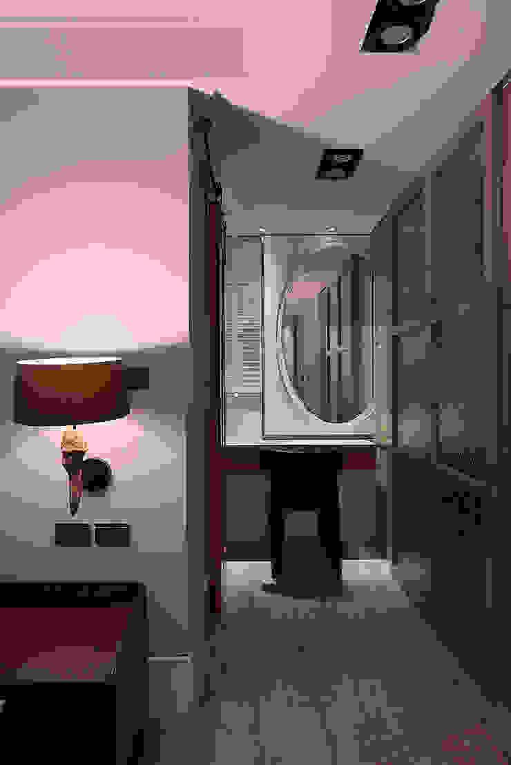 北歐摩登樓中樓輕混搭 Scandinavian style dressing room by AIRS 艾兒斯國際室內裝修有限公司 Scandinavian