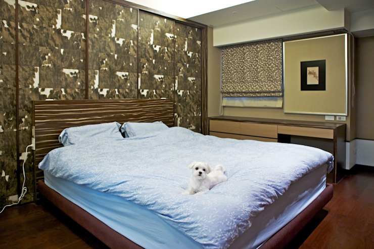 Eclectic style bedroom by AIRS 艾兒斯國際室內裝修有限公司 Eclectic