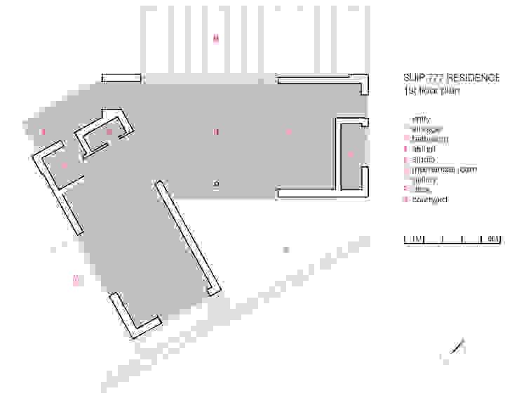SUIP 777 RESIDENCE: HJL STUDIO의 현대 ,모던