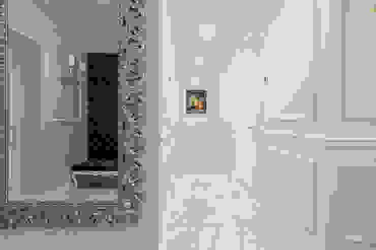 Pasillos, vestíbulos y escaleras de estilo minimalista de U-Style design studio Minimalista