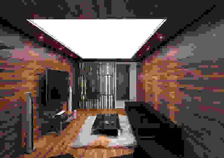 보운디자인 Salas multimedia de estilo moderno