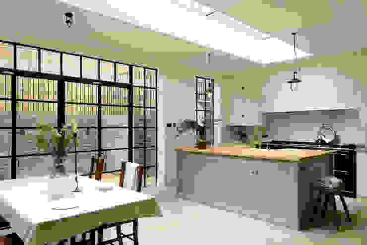 The Islington N1 Kitchen by deVOL Klasik Mutfak deVOL Kitchens Klasik