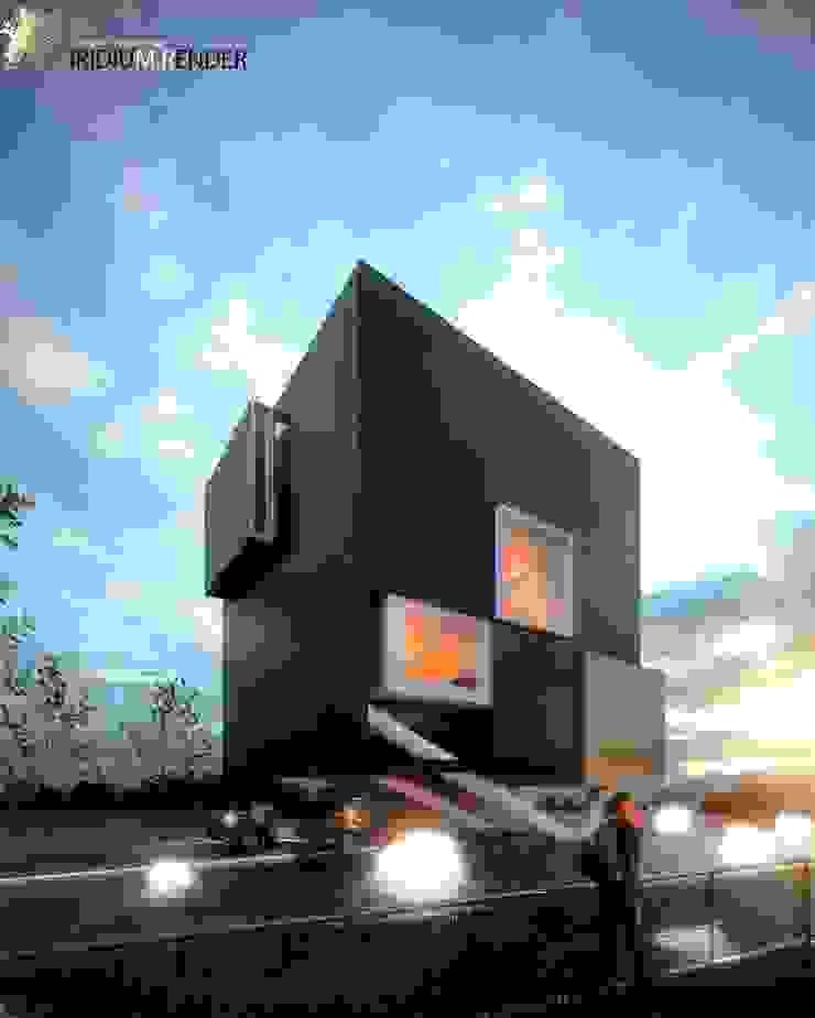 CASA QH Casas modernas de Iridium Render Arquitectura Moderno Metal