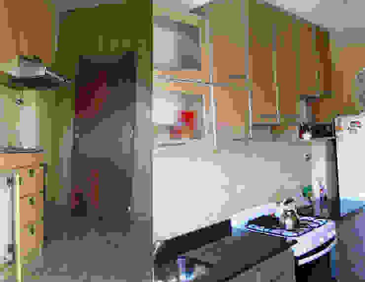 Remodelación cocina I Cocinas modernas: Ideas, imágenes y decoración de AyC Arquitectura Moderno Cerámico