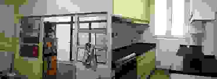 Remodelación cocina III Cocinas modernas: Ideas, imágenes y decoración de AyC Arquitectura Moderno Cerámico