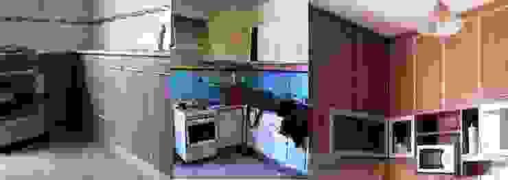 Remodelación cocina II Cocinas modernas: Ideas, imágenes y decoración de AyC Arquitectura Moderno Cerámico
