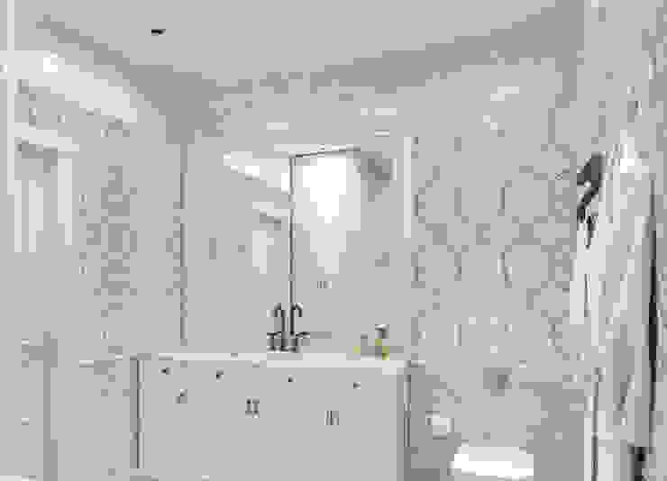Phòng tắm phong cách hiện đại bởi Elalux Tile Hiện đại Đá hoa
