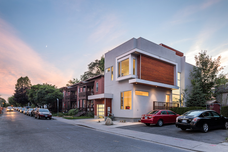 Fold Place Modern houses by Linebox Studio Modern