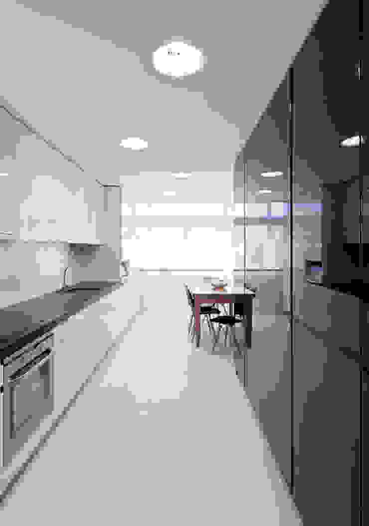 Kitchen Cozinhas minimalistas por FMO ARCHITECTURE Minimalista