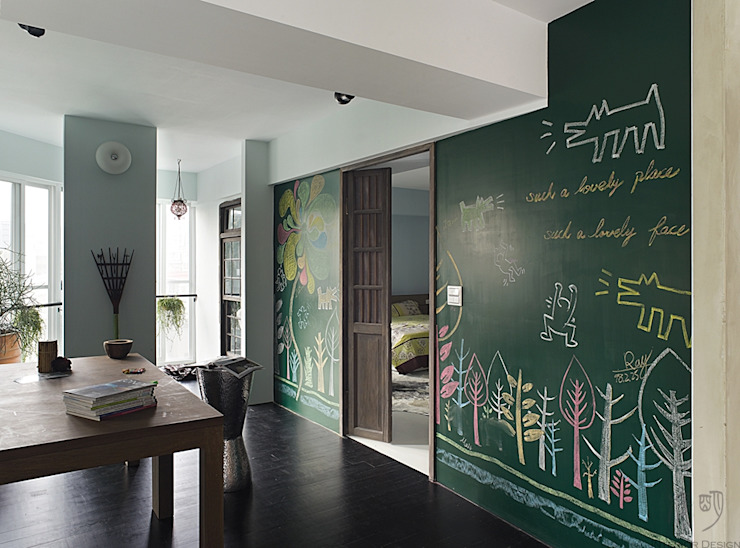 The Wall 根據 禾光室內裝修設計 ─ Her Guang Design 工業風