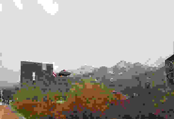 1인(은평 근린생활시설) 모던스타일 주택 by 모노그래프 모던 벽돌