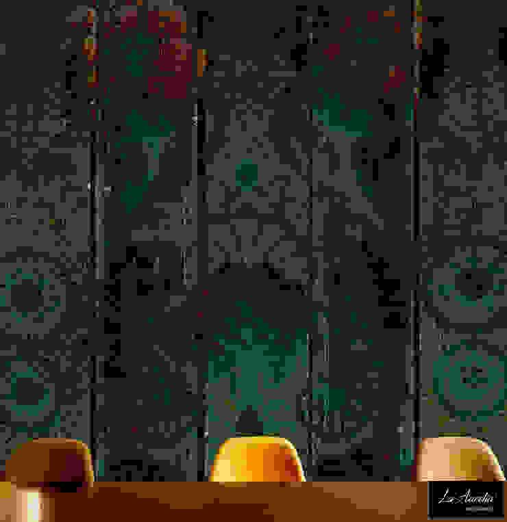 Oasis Wallpaper van La Aurelia Aziatisch