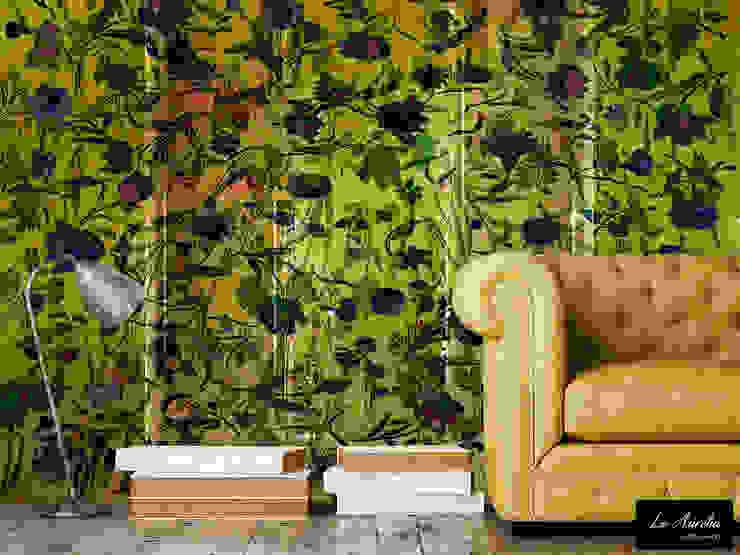 Oasis Wallpaper van La Aurelia Mediterraan
