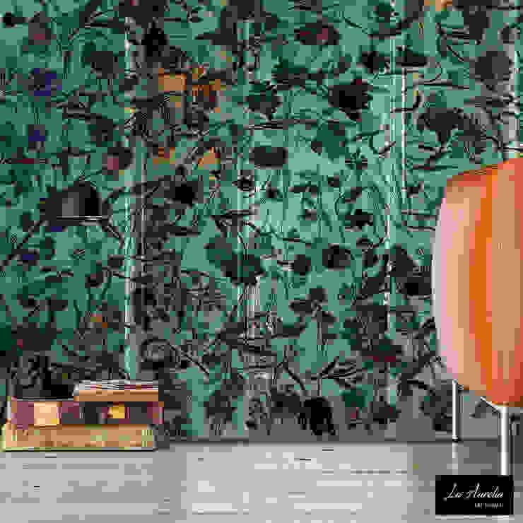 Oasis - Wallpaper van La Aurelia Mediterraan