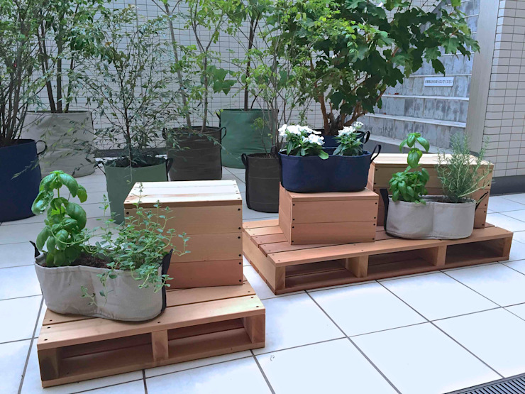 Shikinowa Design Giardino moderno