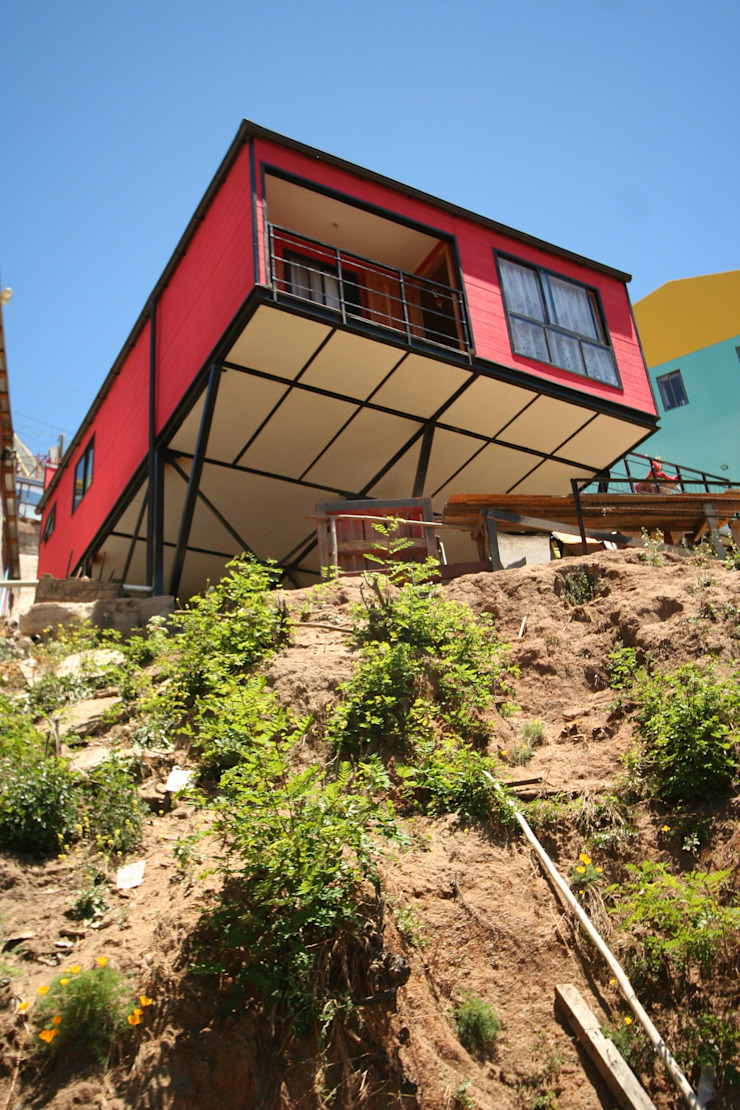Vista desde Quebrada Casas estilo moderno: ideas, arquitectura e imágenes de Arq2g Moderno