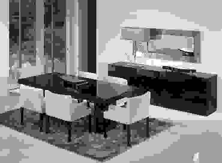 Mobiliário de sala de jantar Dining Room Furniture MATRIX http://intense-mobiliario.com/pt/salas-de-jantar/160-sala-de-jantar-matrix.html por Intense mobiliário e interiores; Moderno