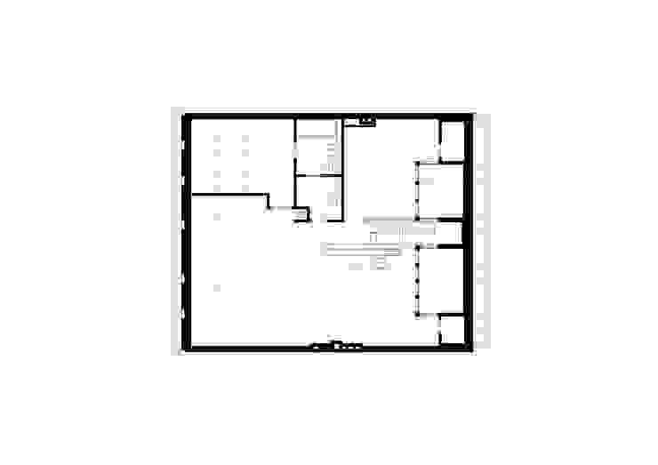 Dachgeschoss-Grundriss brandt+simon architekten