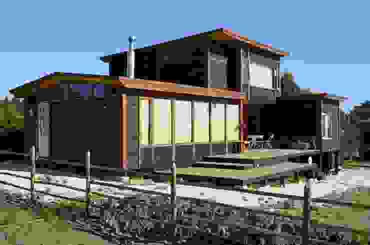 Casas de estilo rústico de BLAC arquitectos Rústico Madera Acabado en madera